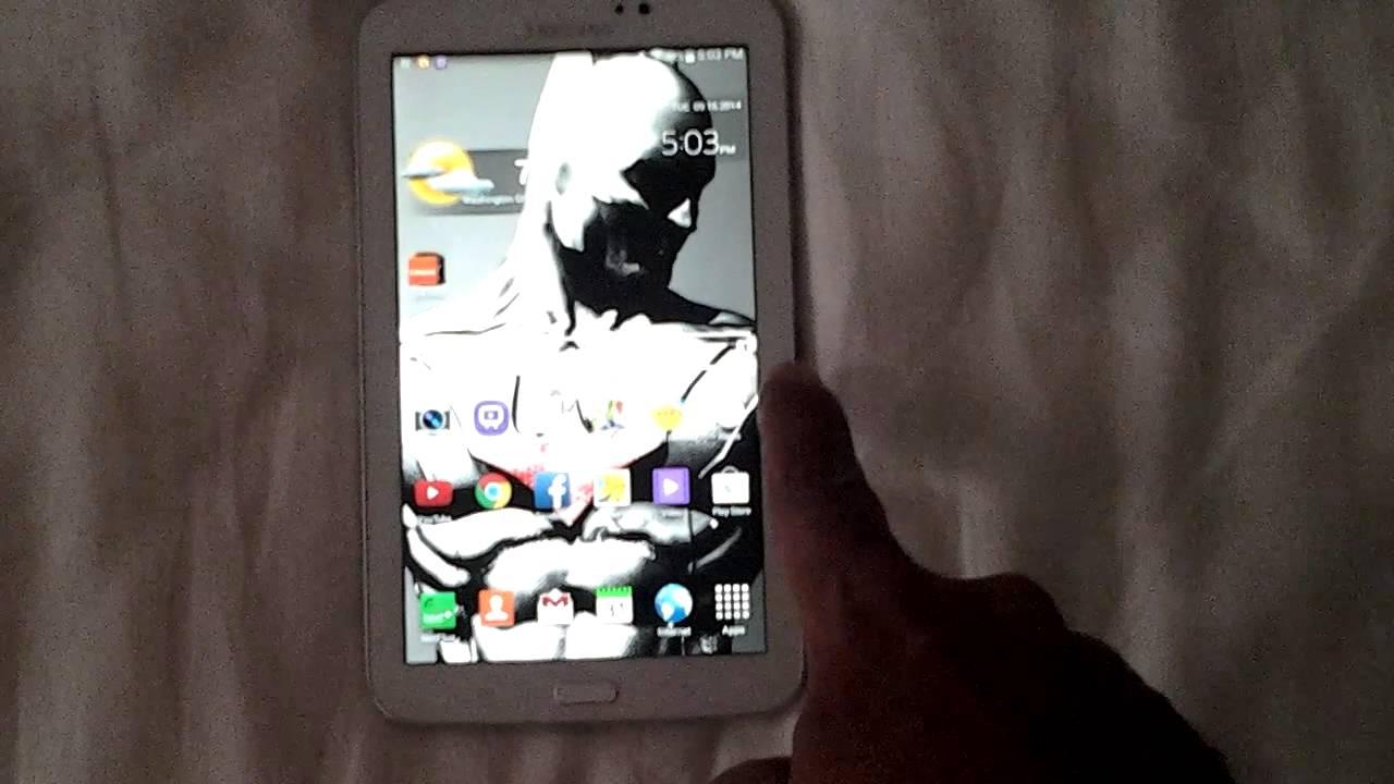 Galaxy Tab 3 Kitkat