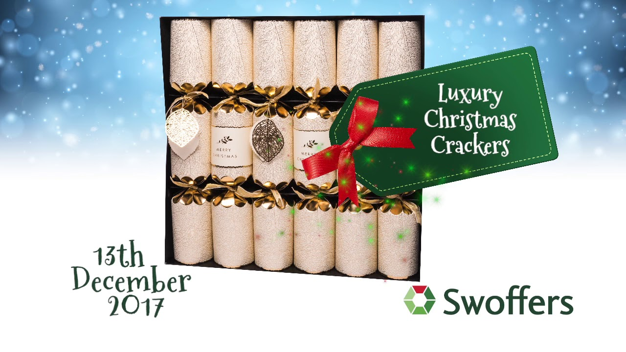 luxury christmas crackers 13th december