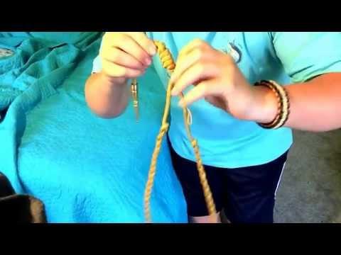 /swifty/preparation Of A JROTC Shoulder Cord