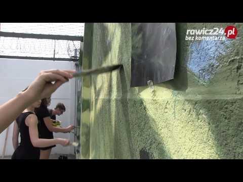 Mural na spacerniaku w rawickim wi zieniu youtube for Mural na tamie w solinie