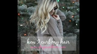 .updated .. how I curl my hair. Thumbnail