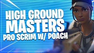 BEST adaptations in Fortnite   Pro Scrim w/ Poach