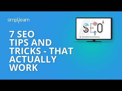7 SEO Tips And Tricks - That Actually Work | SEO Tips 2020 | SEO Tutorial For Beginners |Simplilearn