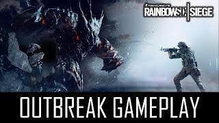 "Rainbow Six: Siege ""OUTBREAK GAMEPLAY!"" - Alle Trailer + Dev Gameplay (German/Deutsch)"