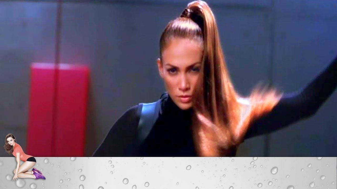 Jennifer Lopez Ninja Ponytail YouTube