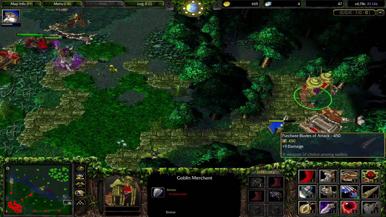 warcraft 3 frozen throne maps ai