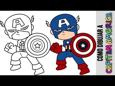 Como Dibujar Capitan America Infinity War Paso A Paso How To