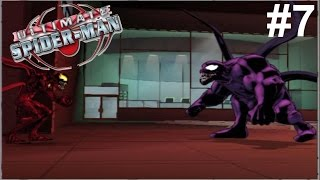 Ultimate Spider-Man PS2 Gameplay #7 [Venom vs Carnage]