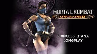 Mortal Kombat Unchained [PSP] - Arcade Mode - Kitana