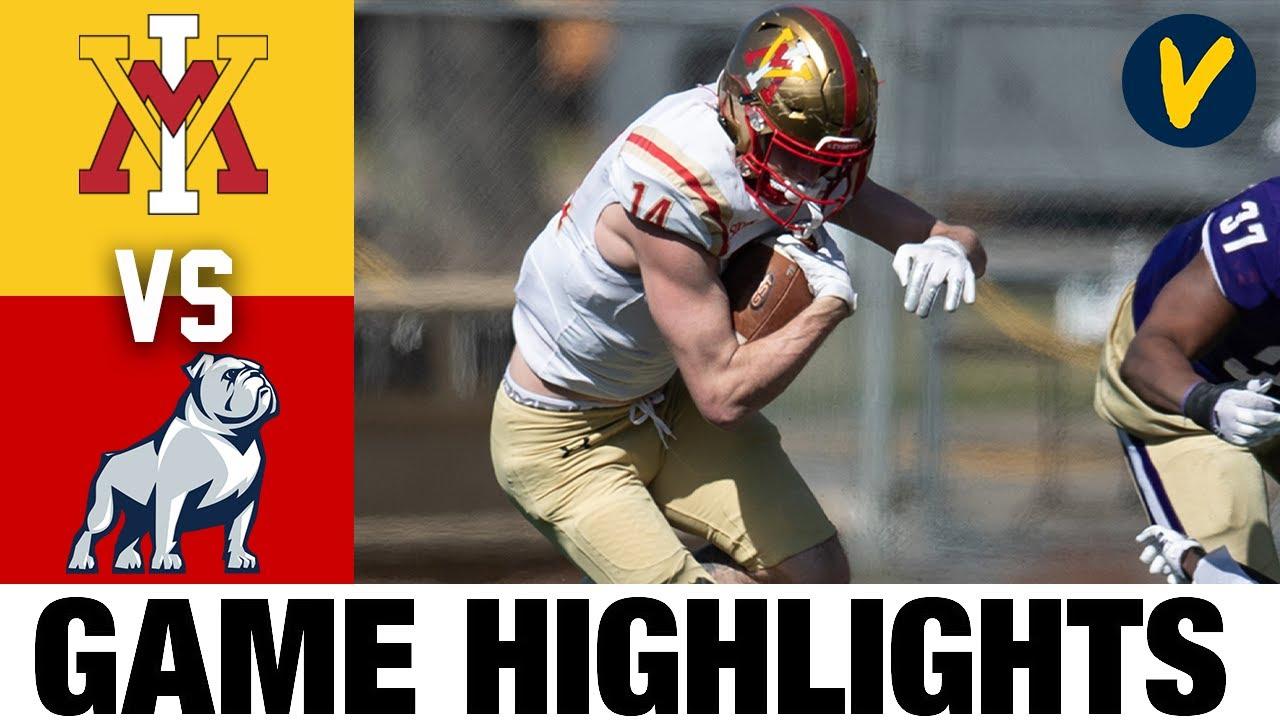 #19 VMI vs Samford Highlights | FCS 2021 Spring College Football Highlights