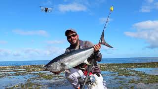 Drone Fishing for Longtail Tuna