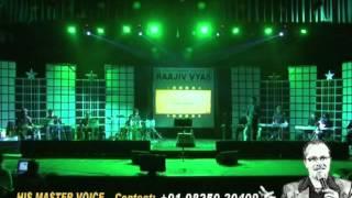 Sholay - Title Music - LIVE ORCHESTRA AHMEDABAD - RAAJIV VYAS (his master voice)