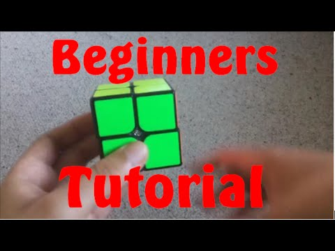 How to Solve the 2x2 Rubik's Cube - Beginners Method
