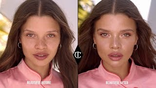 Rose Gold Summer Makeup Look Perfect For Natural Light | Charlotte Tilbury
