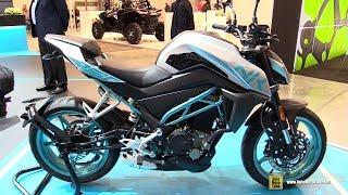 2018 Cfmoto 250 NK - Walkaround - 2017 EICMA Milan Motorcycle Exhibition