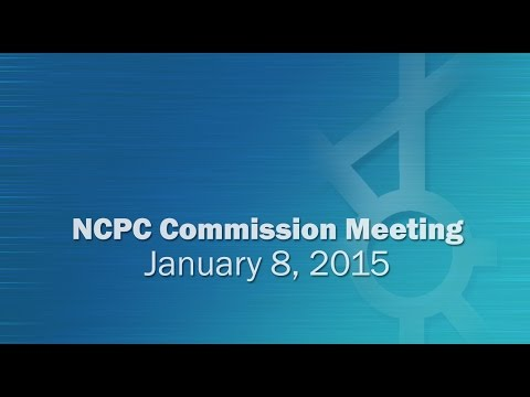 National Capital Planning Commission (USA) Meeting, January, 2015