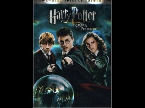 Opening To Harry Potter And The Order Of The Phoenix 2007 Dvd Youtube
