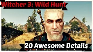 Witcher 3: 20 Awesome Details thumbnail