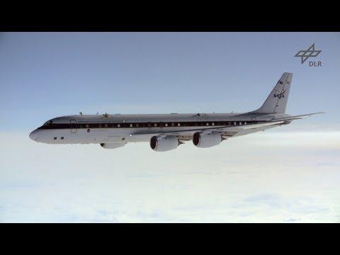 NASA and DLR flight tests on alternative fuel emissions