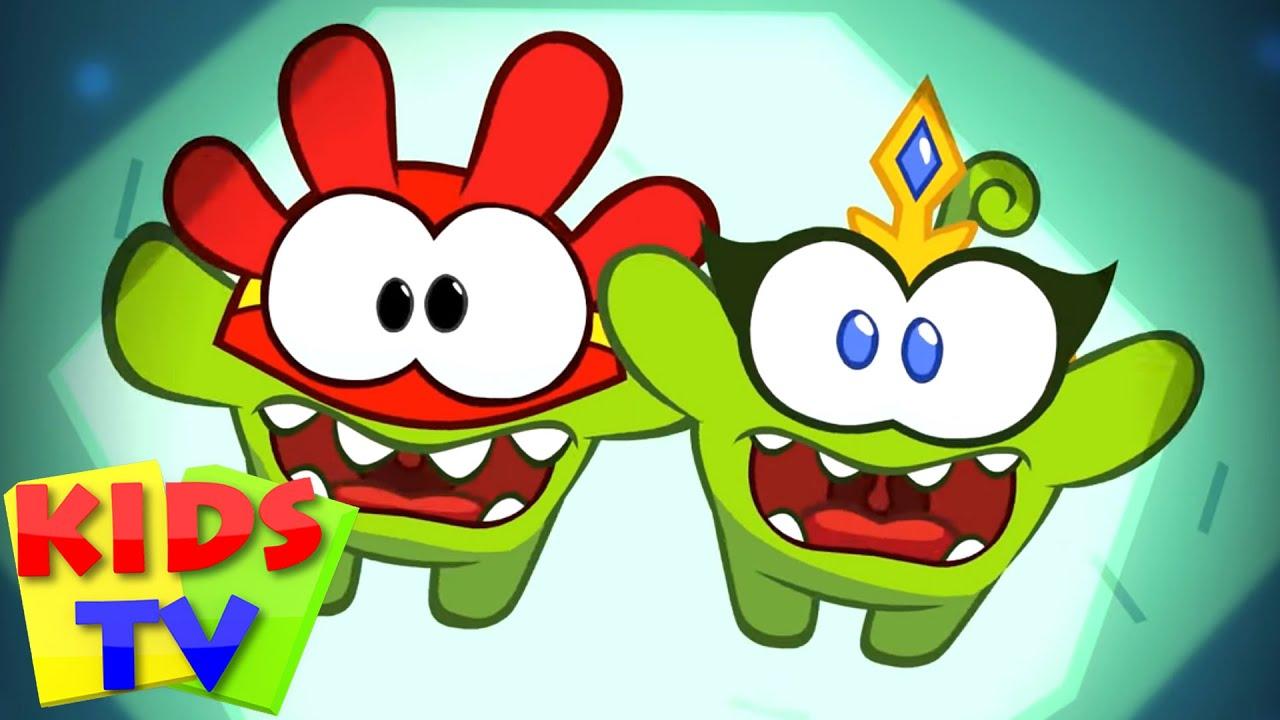 Om Nom Cartoon & Stories - Super Noms: Shrunken Noms | Funny Cartoon Videos | Kids Tv