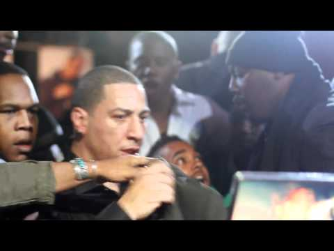 KID CAPRI   PUNCHED IN THE FACE @ CLUB AMNESIA SMIRNOFF MASTER OF THE MIX LAUNCH PARTY.