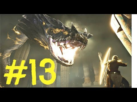 Assassin's Creed Origins - Lets Play Gameplay Walkthrough Part 13 - Giant Snake Boss Fight