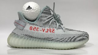 167ad7cfd Yeezy 350 Blue Tint Real Vs Fake