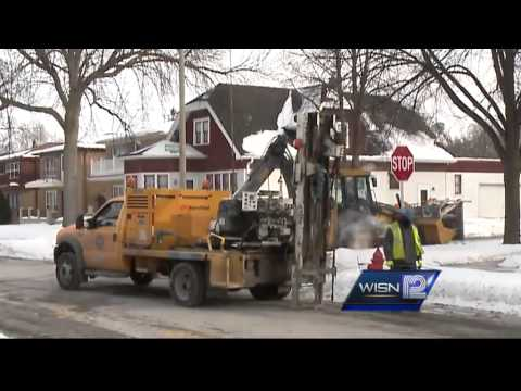 Public works crews deal with water main breaks