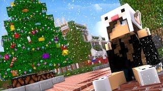 Minecraft: SKYWARS NATALINO - ÁRVORES GIGANTES! [1/3]