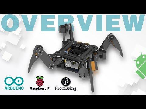 Freenove Quadruped Robot Kit Based on Arduino