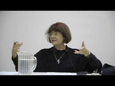 """Catherine Malabou - Catherine Malabou's Lecture """"Philosophy And The Outside"""" - 2019-08-21"""