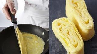 Technique de cuisine : réaliser une omelette à la japonaise
