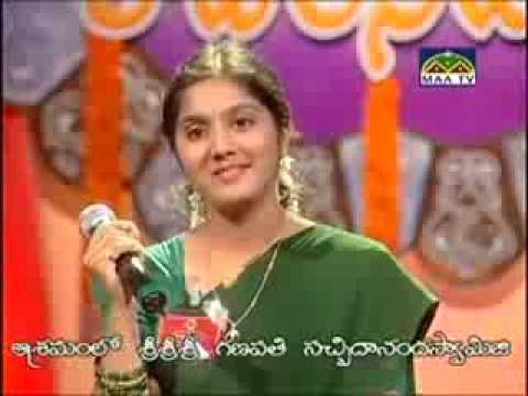 Darbha.Harini (Paadalani Undi(Finals)-Maa TV)