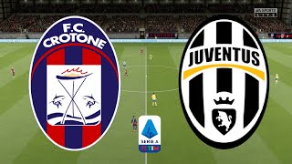 Serie A 2020/21 - Crotone Vs Juventus - 17th October 2020 - FIFA 20