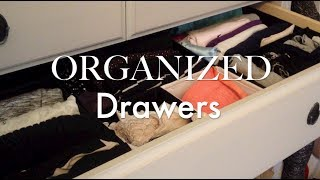 Closet Makeover: Organize Your Dresser!