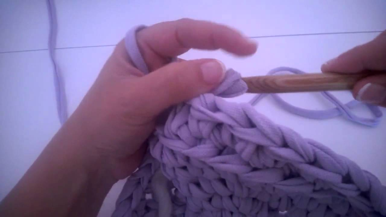 Korb Aus Textilgarn Häkeln Teil 2 Youtube