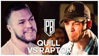 Quill Vs Raptor Warhurst | Premier Battles | Rap Battle