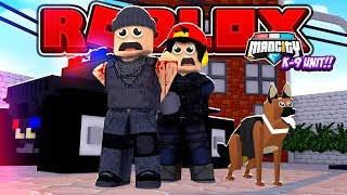 ROBLOX - MAD CITY, ROPO GETS A NEW POLICE DOG!!