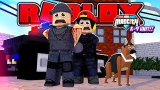 ROBLOX - CIUDAD MAD, ROPO CONSIGUE UN NUEVO DOG POLICIA!!