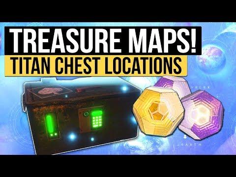 Destiny 2 | TITAN TREASURE MAP LOCATIONS! - Cayde's Treasure Map & Stash Locations (19th September)
