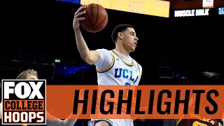 (3) UCLA Bruins defeat Arizona State Sun Devils in Los Angeles | 2017 COLLEGE BASKETBALL HIGHLIGHTS