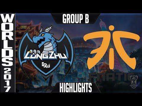 LZ vs FNC Highlights | 2017 World Championship Week 2 Group B Worlds 2017 | Longzhu vs Fnatic