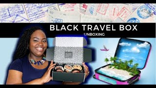 #Unboxing Black Travel Box, on-the-go Hair and Skincare ✈️