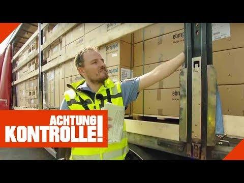 Nur 8 Tonnen Ladung? Polizei schaut bei LKW-Kontrolle genauer hin!   Achtung Kontrolle   Kabel Eins