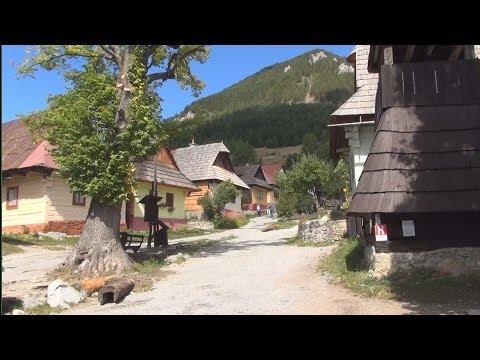 Vlkolínec, Slovakia / Slovensko / Słowacja