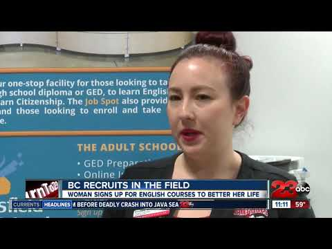 Bakersfield College offers opportunities to field workers