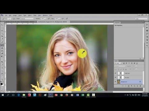 Basic Photoshop cs6 Tagalog tutorials for beginners (Hair transformation)