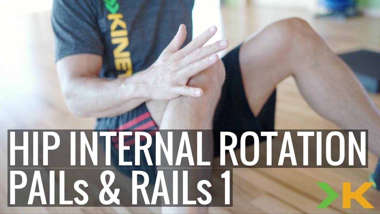 How To Do Hip Internal Rotation - Sleeper Stretch PAILs & RAILs