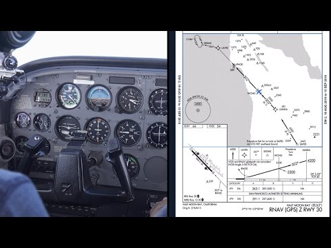 IFR Approaches to Minimums - Marine Layer FOG - California Flight Training VLOG - NorCal ATC audio