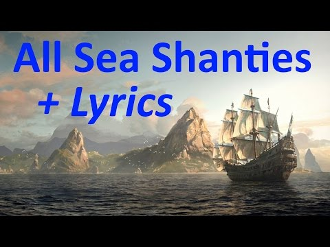 """Assassin's Creed 4: Black Flag"", All 35 Sea Shanties (HD quality) + Lyrics"